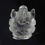 Lab Tested 30.000 Gram Natural Crystal Shree Ganesha Idols