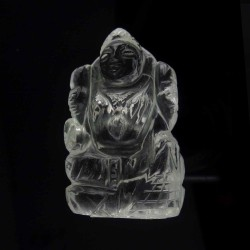 Lab Tested 28.500 Gram Natural Crystal Shree Lakshmi Idols