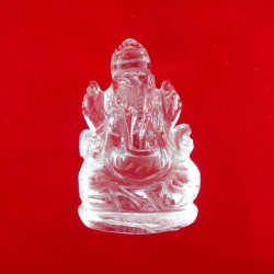 Lab Tested 51.000 Gram Natural Crystal Shree Ganesha Idols