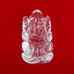 Lab Tested 52.000 Gram Natural Crystal Shree Ganesha Idols