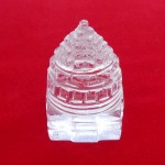 Lab Tested 39.500 Gram Natural Crystal Shree Yantra | Sphatik Shri Yantra | Shree Maha Laxmi Yantra