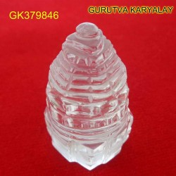 82.25 CT Natural Crystal Shree Yantra | Sphatik Shri Yantra | Shree Maha Laxmi Yantra