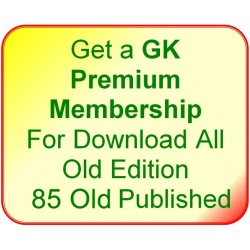 Get a GK Premium Membership For Download All 85* Old Edition
