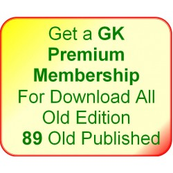 Get a GK Premium Membership For Download All 89* Old Edition
