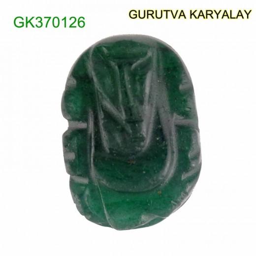 Natural Green Jade Ganesha 23.25 CT