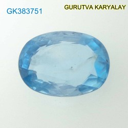 RATTI-6.75 (6.11ct) BLUE ZIRCON