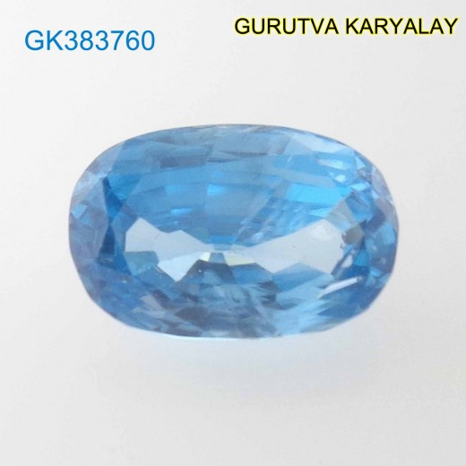 RATTI-5.64 (5.11ct) BLUE ZIRCON