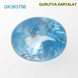 RATTI-6.46 (5.85ct) BLUE ZIRCON