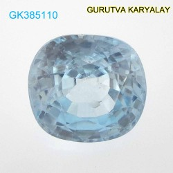 RATTI-7.06 (6.39ct) BLUE ZIRCON