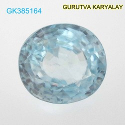 RATTI-5.00 (4.53ct) BLUE ZIRCON