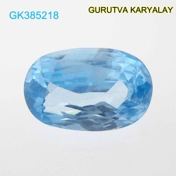 RATTI-5.09 (4.61ct) BLUE ZIRCON