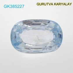 RATTI-6.90 (6.25ct) BLUE ZIRCON