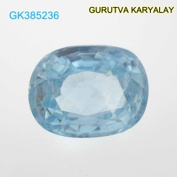 RATTI-5.60 (5.07ct) BLUE ZIRCON