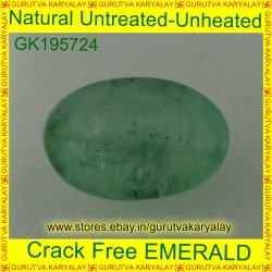 Ratti-3.75(3.40 ct) Natural Green Emerald
