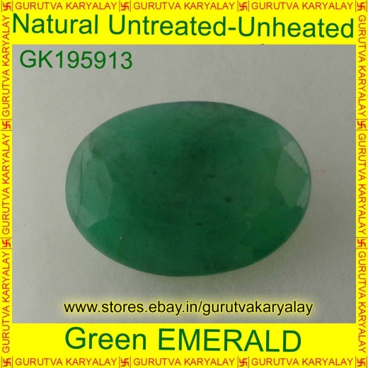 Ratti-4.19(3.80 ct) Natural Green Emerald
