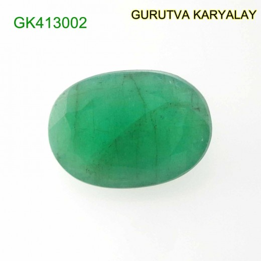 Ratti-6.09 (5.52 CT) Natural Green Emerald