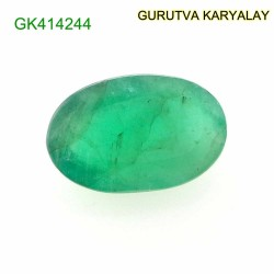 Ratti-3.69 (3.34 CT) Natural Green Emerald