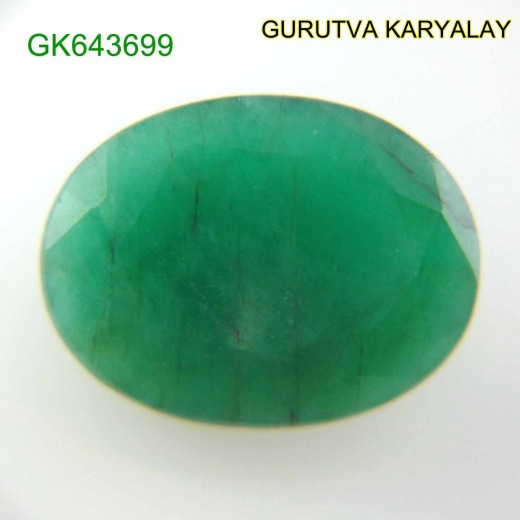 Ratti-7.03 (6.35 CT) Natural Green Emerald