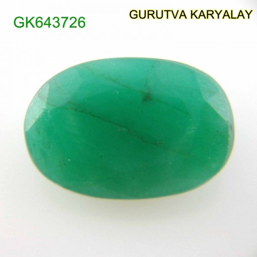 Ratti-7.45 (6.75 CT)  Natural Green Emerald