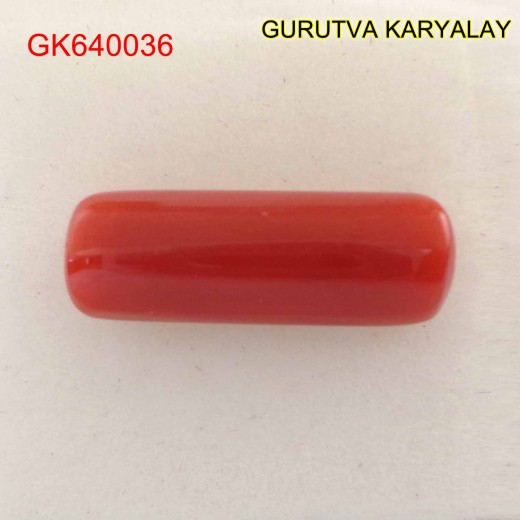 Ratti-5.19(4.70ct) Red Coral Lal Moonga
