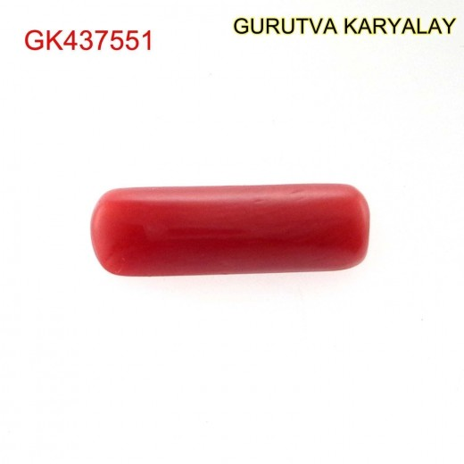 Ratti-3.44 (3.12 CT) Red Coral Lal Moonga