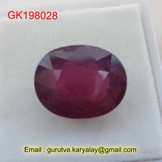 Ratti-8.60(7.85ct) Natural Ruby (Manik)