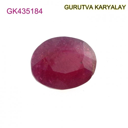 Ratti-8.93 (8.09ct) Natural Ruby (Manik)