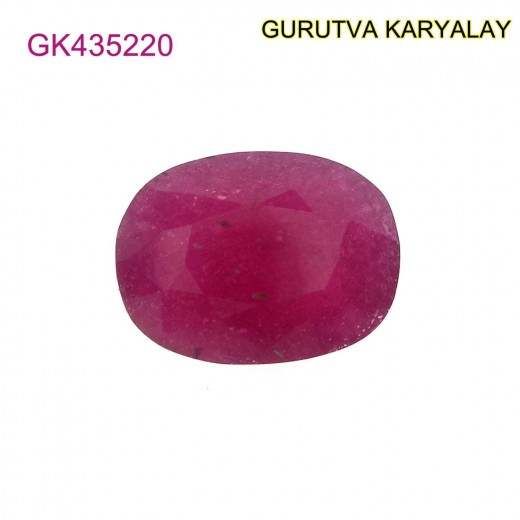 Ratti-10.09 (9.14 ct) Natural Ruby (Manik)