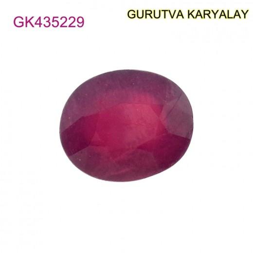 Ratti-7.75 (7.02ct) Natural Ruby (Manik)