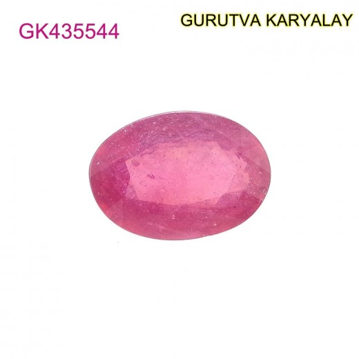 Ratti-5.52 (5.00ct) Natural Ruby (Manik)