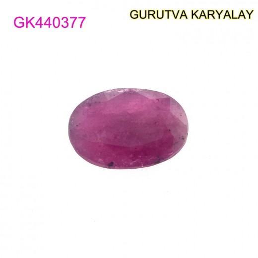 Ratti-5.44 (4.93 ct) Natural Ruby (Manik)