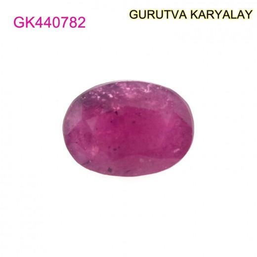 Ratti-4.37 (3.96 ct) Natural Ruby (Manik)