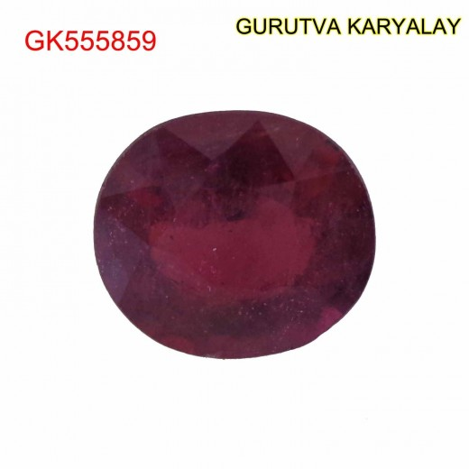 Ratti-5.70 (5.20ct) Natural Ruby (Manik)