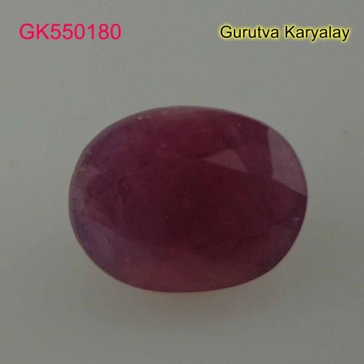 Ratti:10.90(9.85ct) Natural Ruby (Manik)