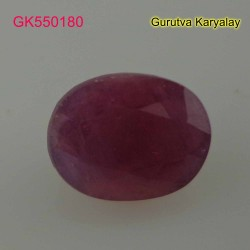 Ratti:10.90(9.85ct) Natural Ruby (Manik)