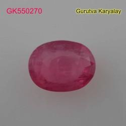 Ratti:6.04(5.50ct) Natural Ruby (Manik)