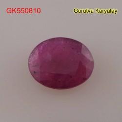 Ratti:5.25(4.79ct) Natural Ruby (Manik)