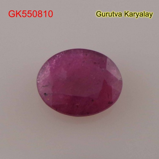 Ratti:5.25(4.79ct) Natural Ruby (Manik)