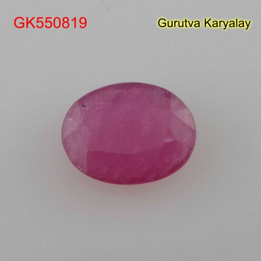 Ratti:3.81(3.45ct) Natural Ruby (Manik)