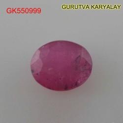 Ratti:5.51(5.00ct) Natural Ruby (Manik)