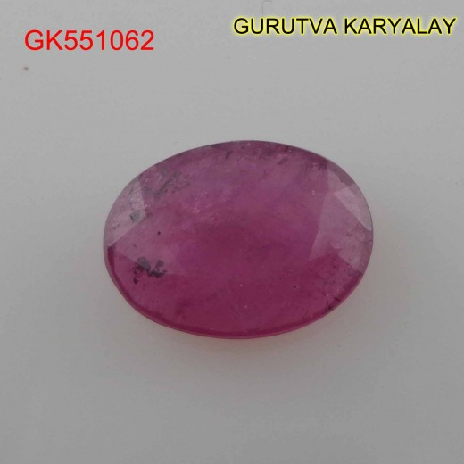 Ratti:6.93(6.30ct) Natural Ruby (Manik)