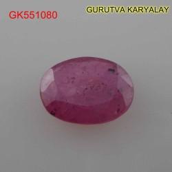 Ratti:4.29(3.90ct) Natural Ruby (Manik)