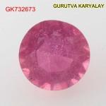 Ratti-7.30 (6.62ct) Natural Ruby (Manik)
