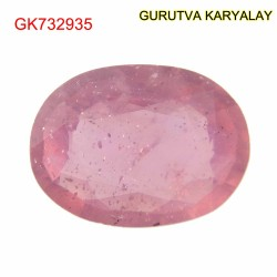 Ratti-5.38 (4.87ct) Natural Ruby (Manik)