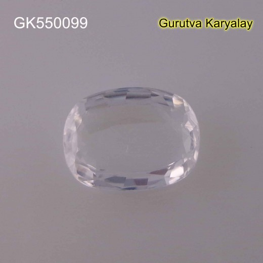 Ratti-5.65 (5.12ct) Real White Zircon