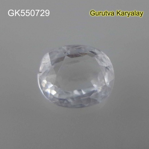 Ratti-4.83(4.38ct)  Real White Zircon