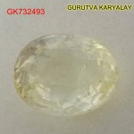 Ratti-6.44 (5.83 CT) Yellow Sapphire Pukhraj Exclusive Collection