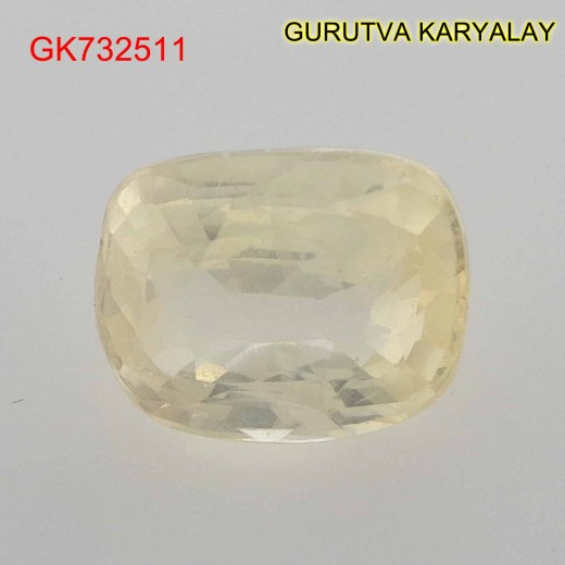 Ratti-5.50 (5.01 CT) Yellow Sapphire Pukhraj Exclusive Collection