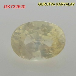 Ratti-5.55 (5.03 CT) Yellow Sapphire Pukhraj Exclusive Collection