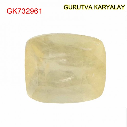 Ratti-8.96 (8.11CT) Yellow Sapphire Pukhraj Exclusive Collection